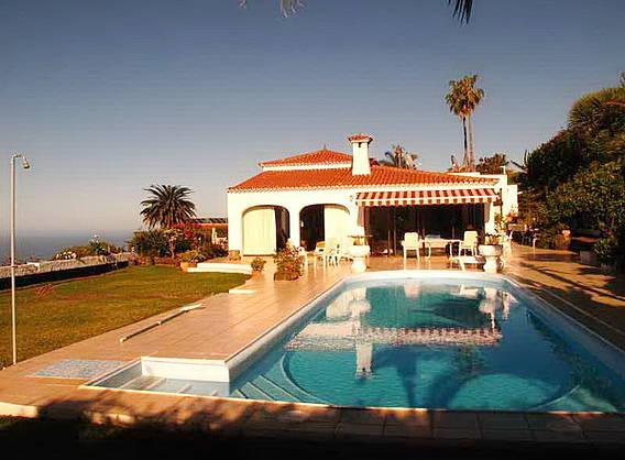 Ferienhaus Teneriffa Mit Pool , Villa Preciosa Mit Beheiztem Pool Feriendomizile Online